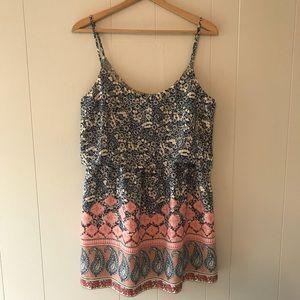 Abercrombie & Fitch | Floral Print Dress L